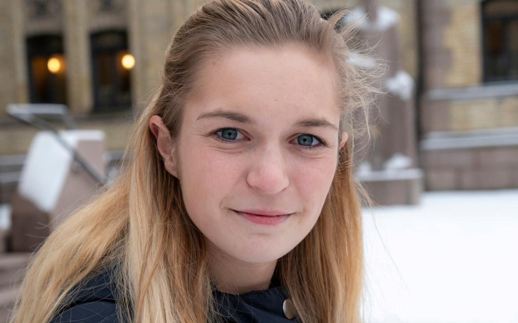 – Det er en utfordring at friskolene henger etter, sier Mathilde Tybring-Gjedde i Høyre. Foto: Erik M. Sundt.