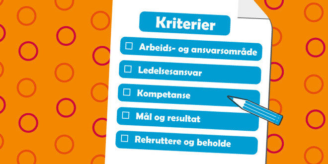 Bildet er av omslaget på rapporten, og viser de fem kriteriene til grunn for vurdering i Oslo kommune