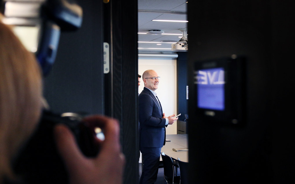 Steffen Handal og Unio meiner at de med  høgare utdanning bli prioritert i dette oppgjeret. Foto: Jørgen Jelstad