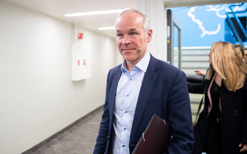 Systemet for økonomisk tilsyn i barnehagene er ikke tilpassa dagens barnehagestruktur, sier Jan Tore Sanner (H), som i dag presenterte forslag til endringer i barnehageloven. Foto: Berit Roald / NTB scanpix
