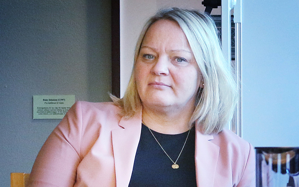 – Det er på tide at vi politikere sjekker om målene i Stortingsmelding 28 faktisk følges opp i de nye læreplanene, sier SVs Mona Fagerås. Foto: Jørgen Jelstad