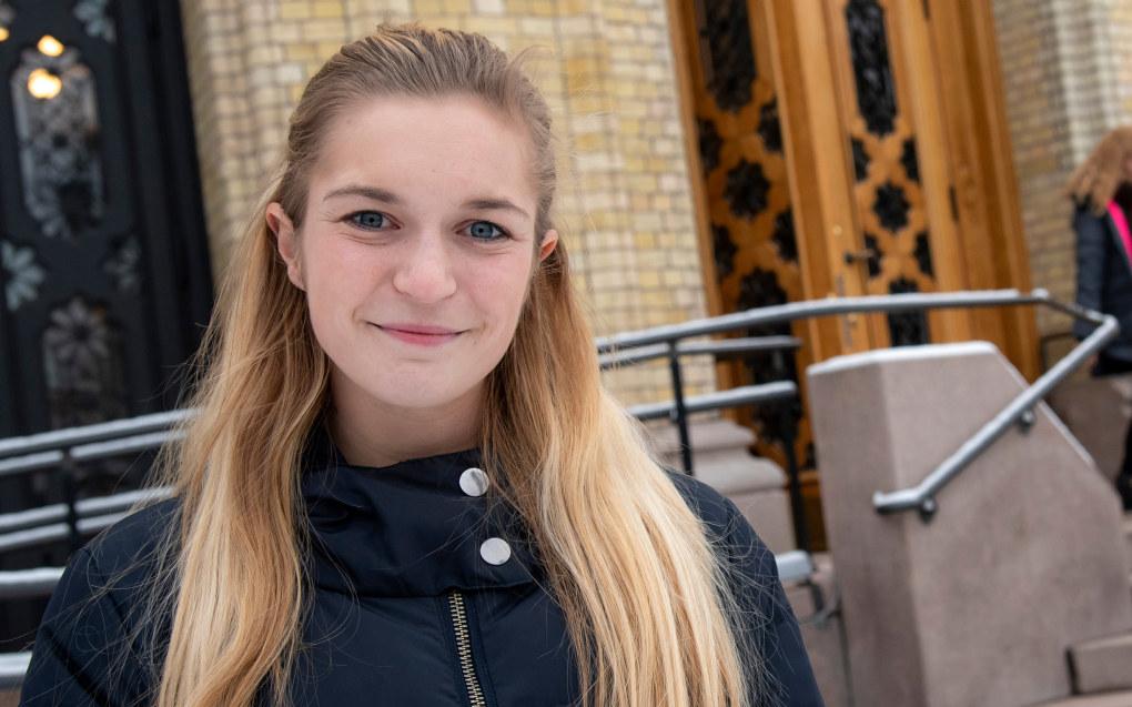 Mathilde Tybring-Gjedde (H) ønsker at skoler som har svake resultater skal få hjelp av staten. Arkivfoto: Utdanning