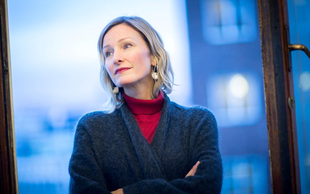 – Jeg har store forventninger til Marte Gerhardsen og ser frem til å samarbeide med henne, sier byråd for oppvekst og kunnskap Inga Marte Thorkildsen. Foto: Bo Mathisen