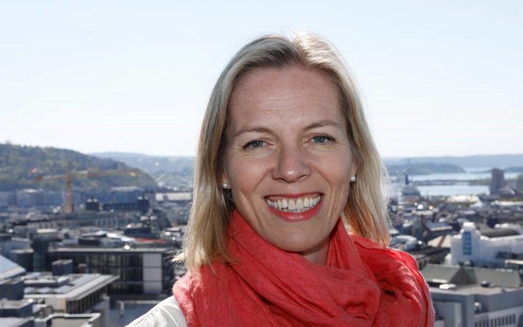 – Jeg gleder meg til å begynne å jobbe sammen med alle de dyktige fagfolkene i Utdanningsetaten, sier Marte Gerhardsen. Foto: Finn Oluf Nyquist