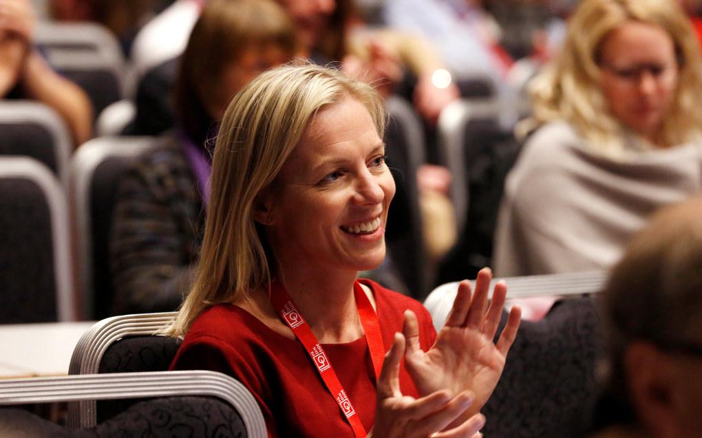 Marte Gerhardsen er innstilt til stillingen som direktør for Utdanningsetaten. Foto: Trond Solberg/VG