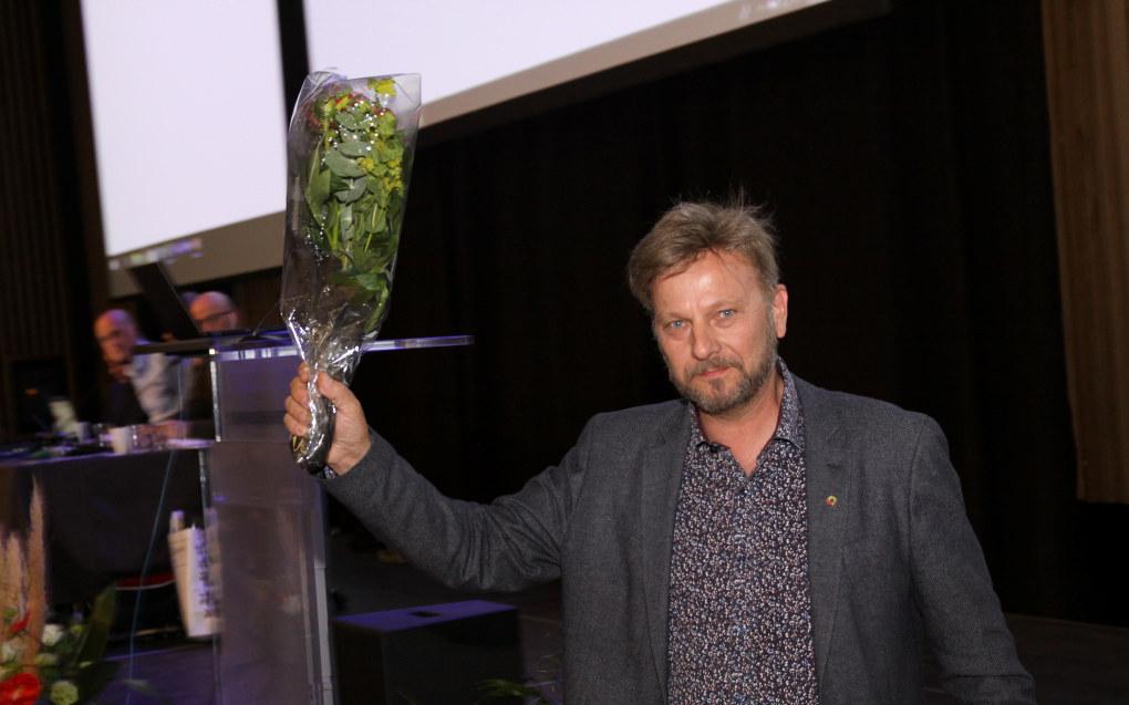 Johannes Bjørset Aagaard ble valgt til leder i det nyfødte gigantlaget Viken med 218 av 343 stemmer. Foto:Tore Brøyn