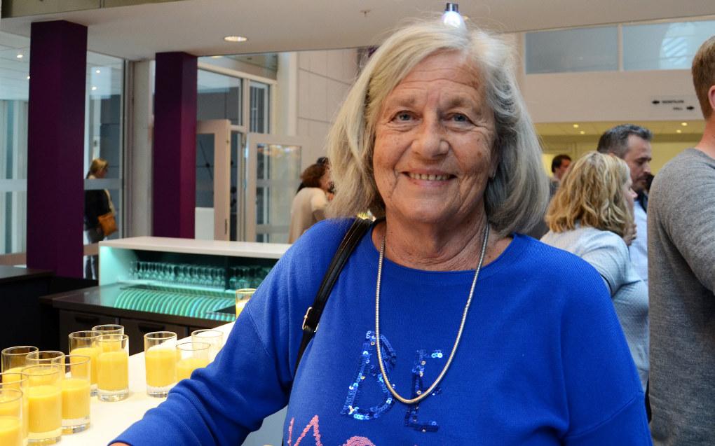 Veteranmedlem Else-Marie Østlund (73) er igjen på fylkesårsmøte, denne gang for det sammenslåtte Trøndelag. Foto: Kari Oliv Vedvik