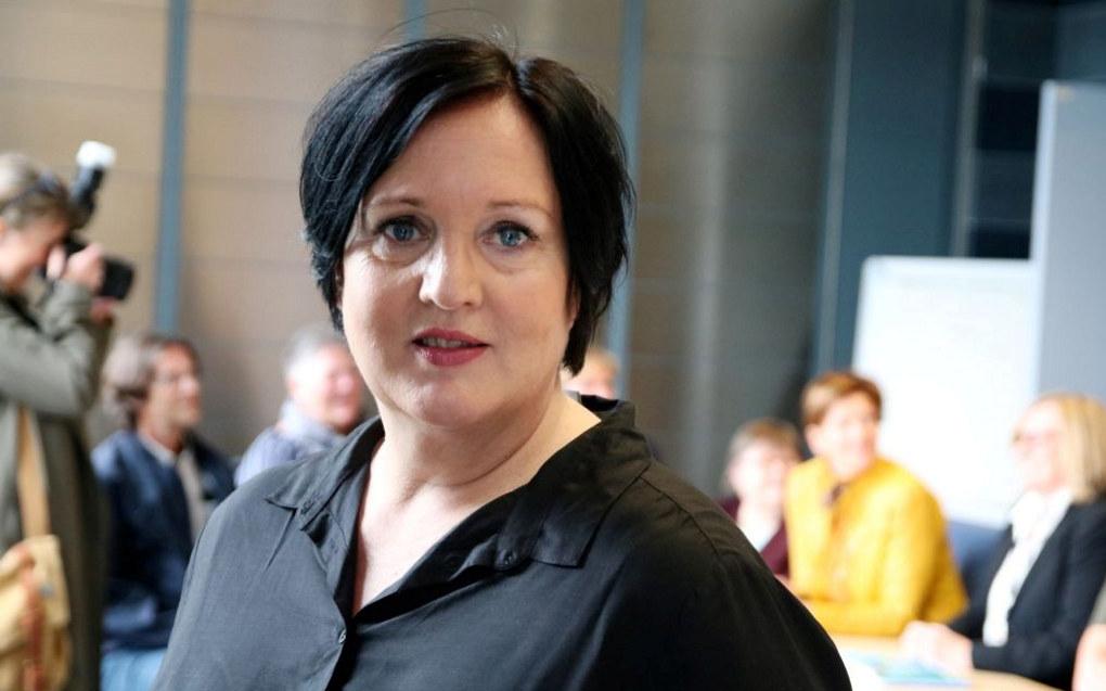 Forhandlingsleder Aina Skjefstad Andersen i Unio Oslo kommune er fornøyd med totalrammen på oppgjøret for lærerne i Oslo. Foto: Stig Brusegard