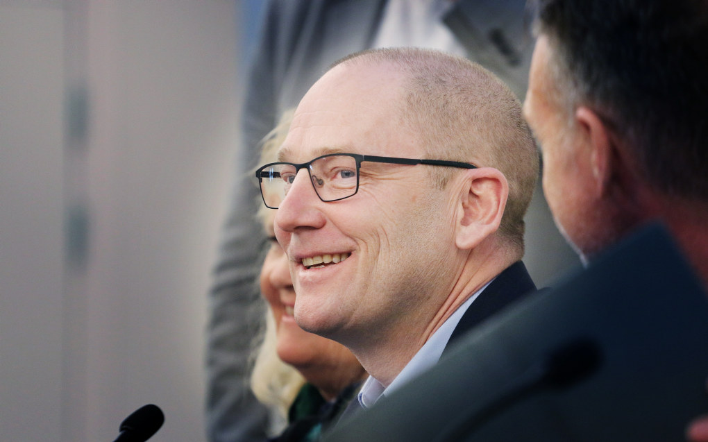 Forhandlingsleder i Unio, Steffen Handal. Foto: Jørgen Jelstad