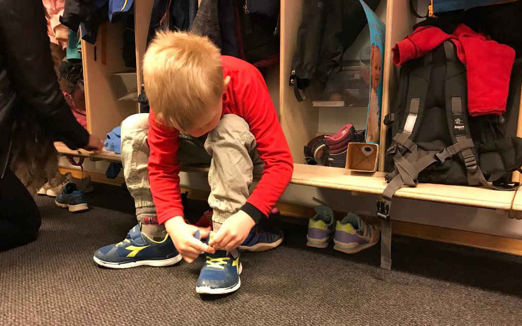 Forskjell i tilskuddssatsene til private barnehagene kan bety at noen barn får et kvalitativt dårligere tilbud enn andre. Foto: Paal Svendsen