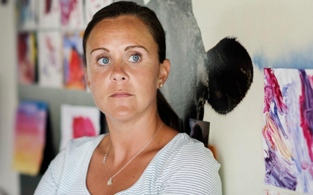 Pedagogisk leder Marita Bjørvik var sykmeldt i tre måneder før hun delvis begynte å jobbe igjen. Hun hadde ikke pedagogisk ansvar, men var der sammen med barna, uten noen form for krav. Foto: Marie von Krogh