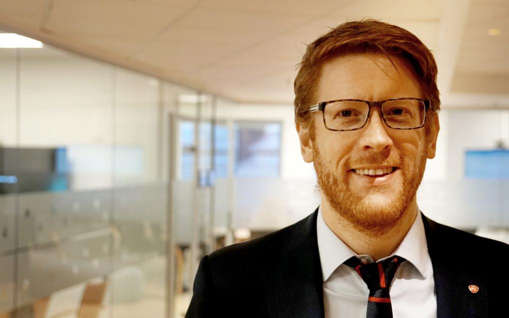 Aps Martin Henriksen vil ha en klimaoffensiv i skolen. Foto: Marianne Ruud