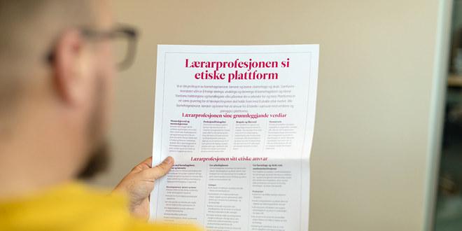 Lærarprofesjonen si etiske plattform