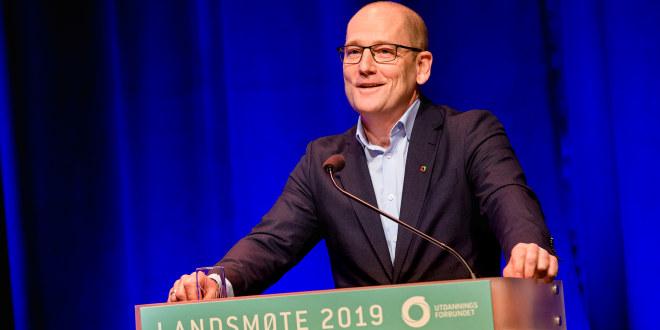 Steffen Handal, leder Utdanningsforbundet