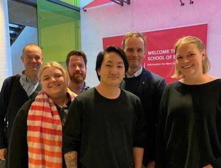 Norges delegasjon på seks personer
