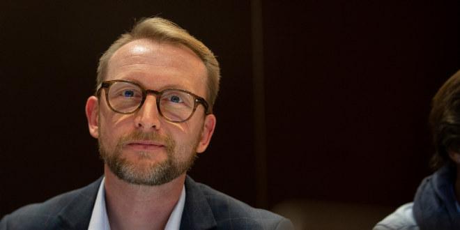 Landsmøtedelegat Bjørn Sigurd Hjetland fra Akershus ønsker at pensjonistenes stemme skal bli tydeligere i Utdanningsforbundet. Foto: Tom-Egil Jensen.