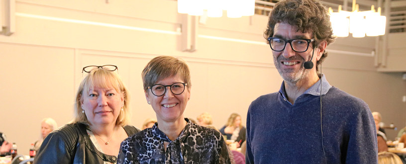 Anne Dorthe Nodland Aasen ønsker velkommen til felles kurs om hovedavtalen.