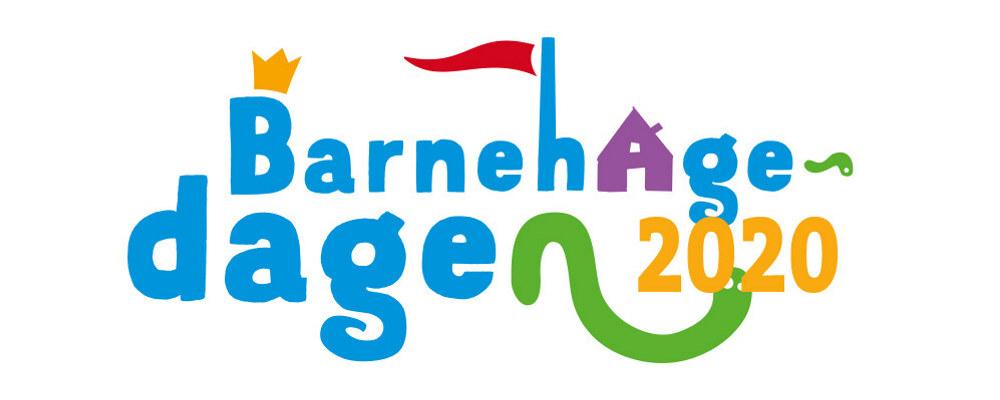 Logo av Barnehagedagen 2020.