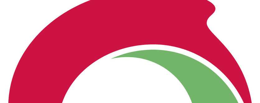 Utsnitt av Utdanningsforbundets logohjul.