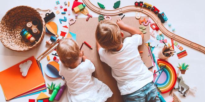 Illustrasjonsfoto av barnehage