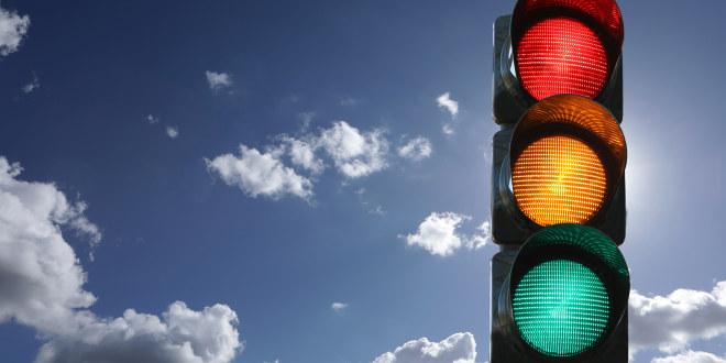 illustrasjonsfoto av trafikklys