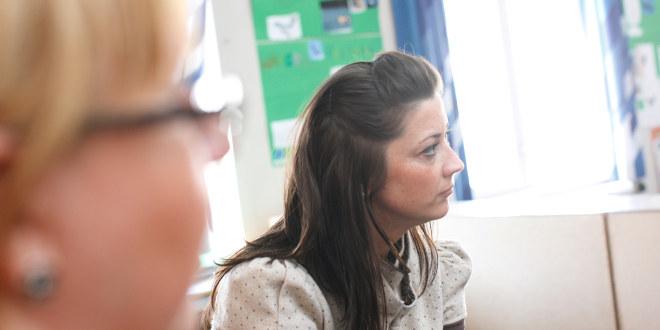 Illustrasjonsfoto av kvinnelig lærer