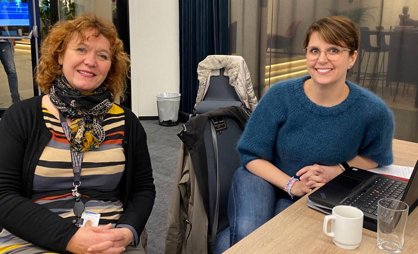 Kurs 28.10.20 Benthe Skrøvje og Marianne Huseby Andersen