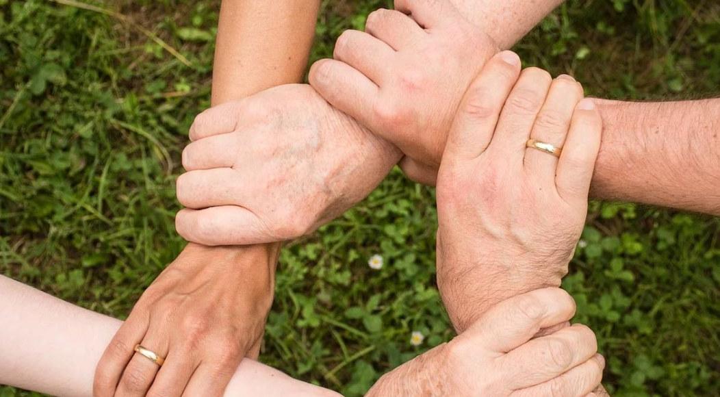 Samhold, samarbeid, team, arbeidsmiljø