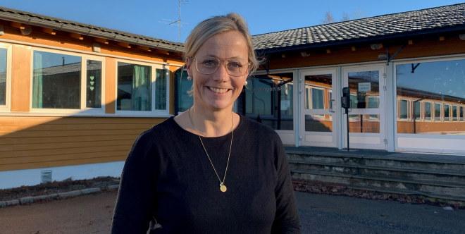 Martha Synnøve Hersleth Holsen, rektor ved Kirkefjerdingen skole i Indre Østfold.