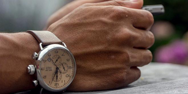 Klokke på arm