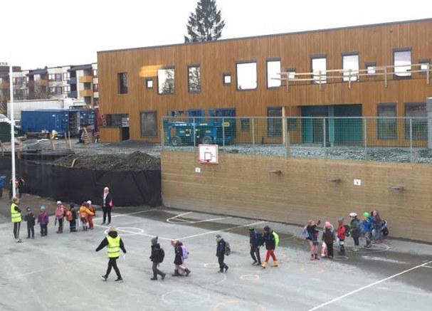 Korona Huseby barneskole Trondheim