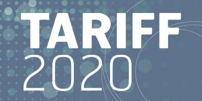 Logo Tariff 2020.