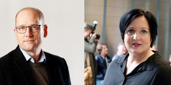 Steffen Handal og Aina Skjefstad Andersen