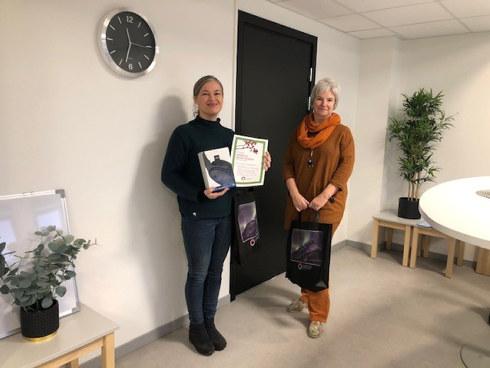 Utdanningsforbundet Nordland har nå avsluttet vervekonkurransen vi hadde før jul. I Narvik vant Randi Thomassen og i Gildeskål vant Håvard Christensen. Vi gratulerer vinnerne.