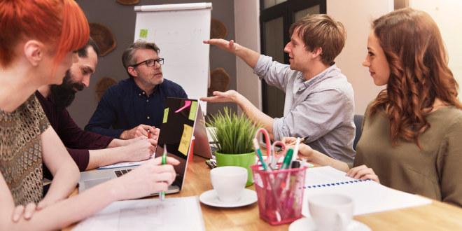 lærere, rektor, lærerværelse, ledelse, møte, planlegging, dialog, lærer,