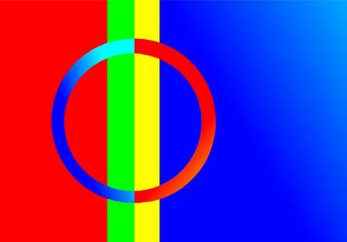 samisk flagg, samer