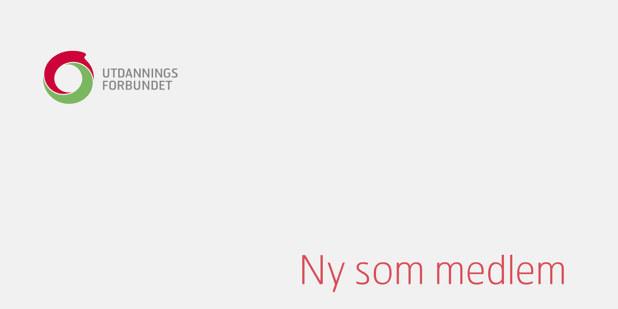 """Bilde av publikasjon med teksten: """"Ny som medlem"""""""