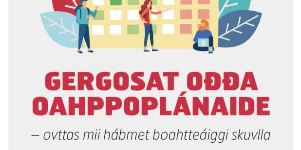 Plakat på samisk