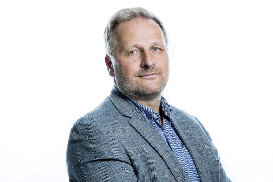 Portrettfoto av forhandlingssjef Klemet Rønning-Aaby i Unio.