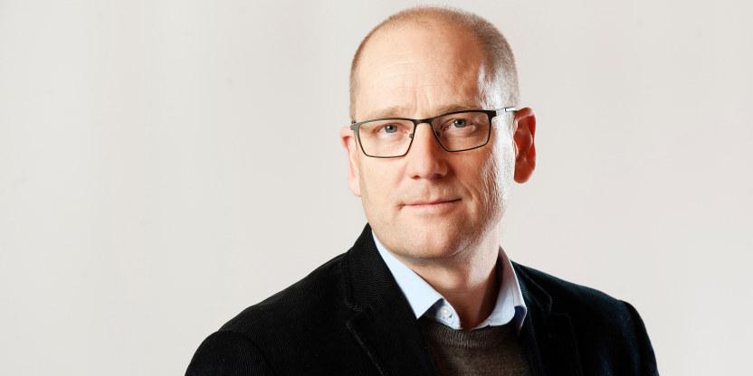 Nærbilde av Steffen Handal, leder i Utdanningsforbundet.