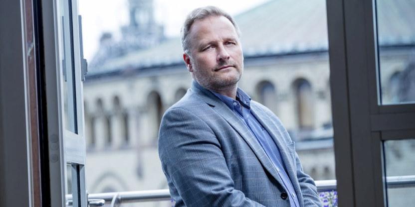 Forhandlingssjef i Unio, Klemet-Rønning Aaby.
