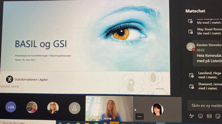 Illustrasjonsbilde GSI og BASIL