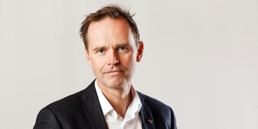 Thom Bjørnar Jambak, Sentralstyremedlem i Utdanningsforbundet 2020–2023 (sentralstyremedlem 2016–2019). Bildet er tatt i november 2019.