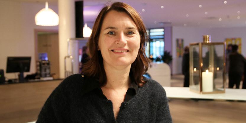 Hege Valås, nestleder i Utdanningsforbundet. På Styrerkonferansen 2016 i Stavanger.