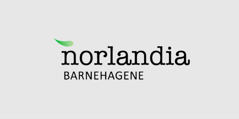Logo Norlandia Barnehagene.