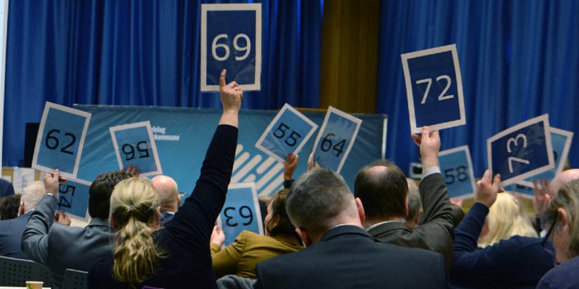 Votering fylkestinget