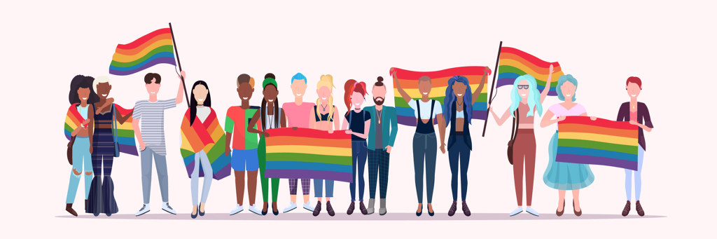 Pride, LGBTQ, regnbue