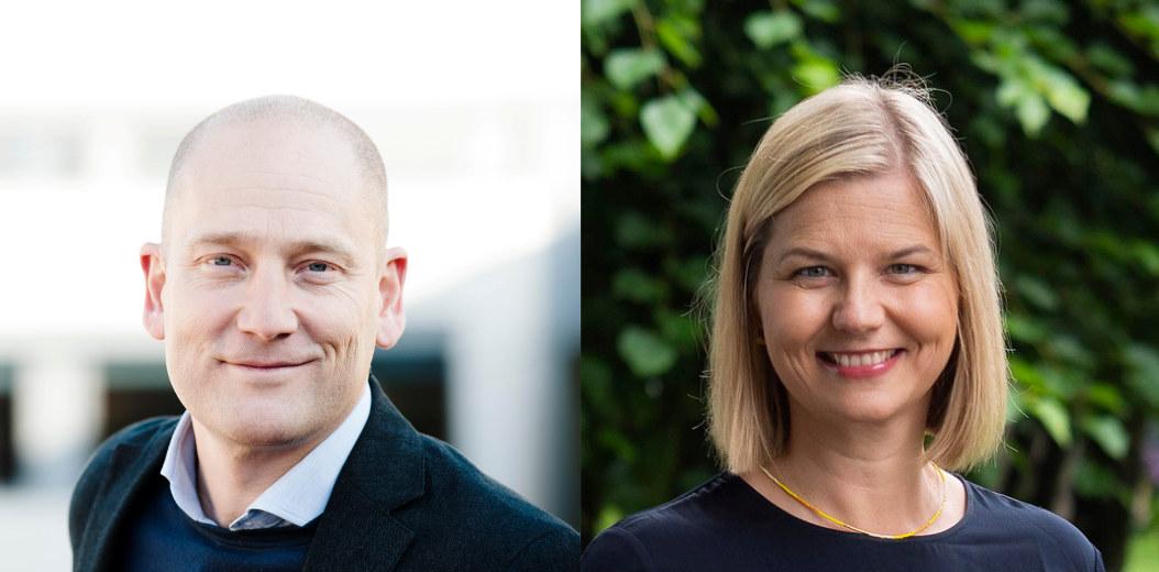 Steffen Handal og Guri Melby