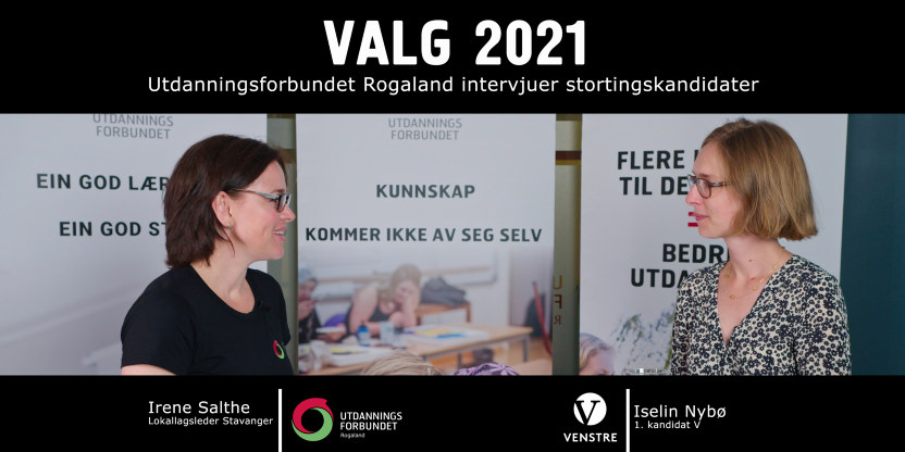 Valg 2021 Iselin Nybø