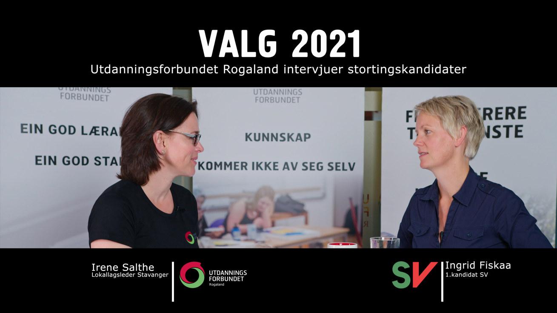 Valg 2021 Rogaland